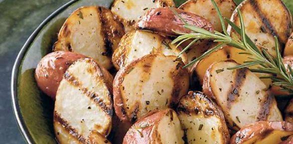 Картофель гриль в микроволновке