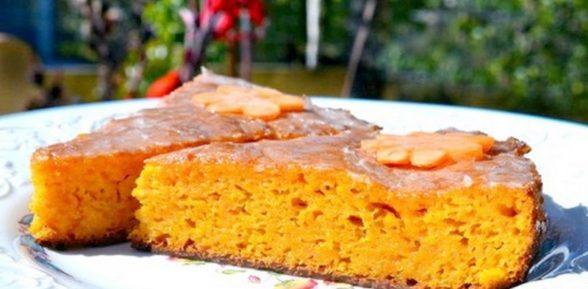 Морковный пирог «Зайка»