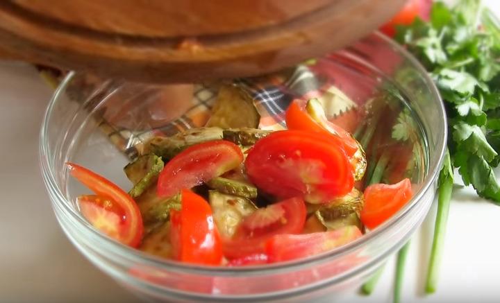 помидоры добавить к кабачкам
