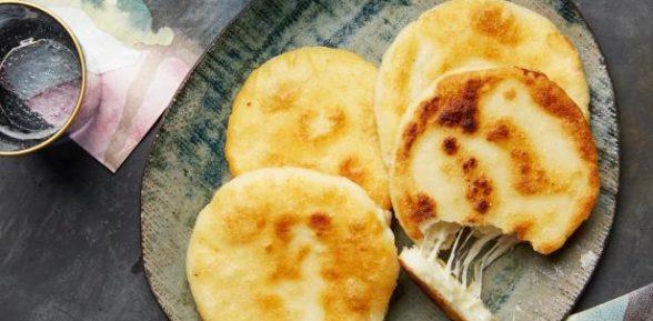 Индийские чапати с сыром