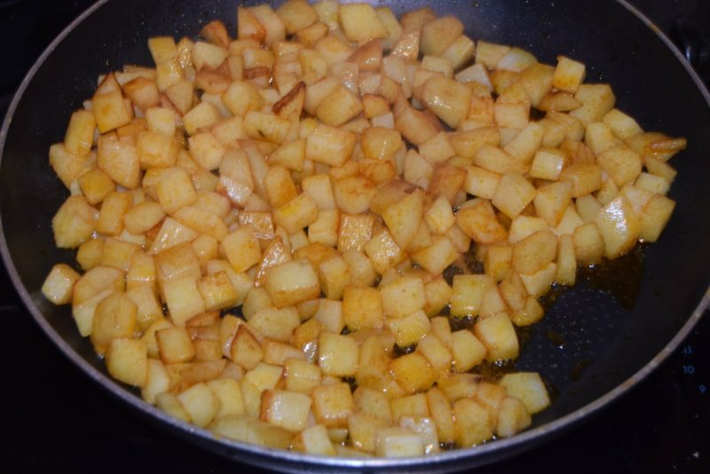 Рагу с картошкой