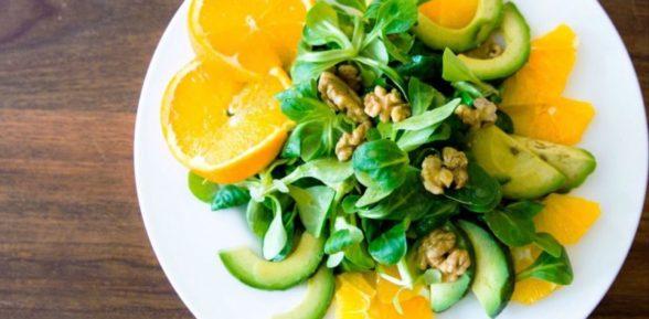 4 простых рецепта цитрусовых салатов