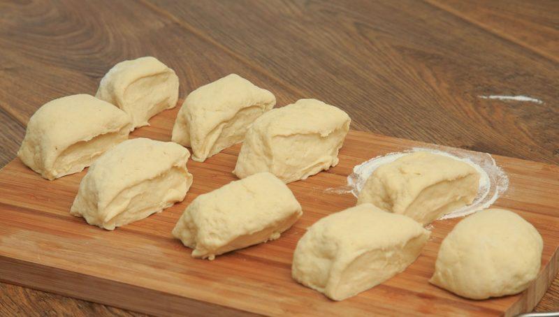Приготовление чапати с сыром