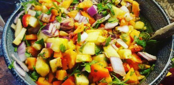 Летняя овощная сковорода