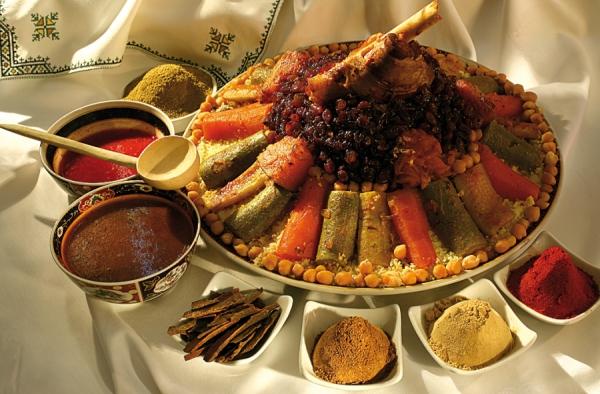 Самые используемые специи марроканской кухни