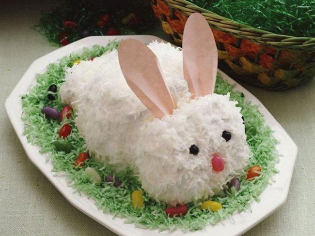 салат белый кролик