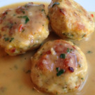 Котлеты из грибов с картофельным соусом