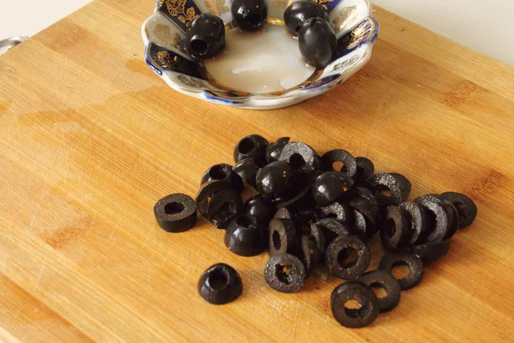 Маслины кружочками