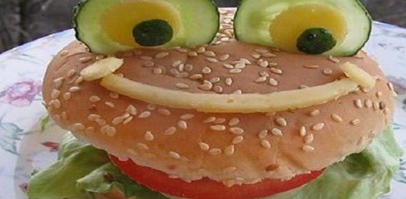 Веселый гамбургер «Лягушка»