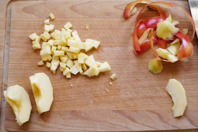Приготовление фруктово-ягодного салата