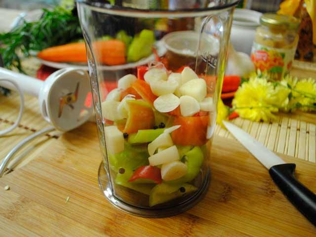 Острый маринад для помидор
