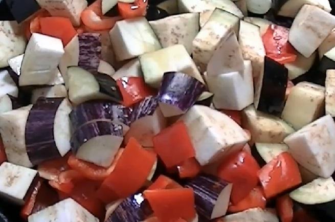 Приготовление овощного рагу с тофу