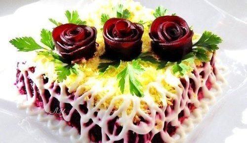 Вырезаем украшения для салата — photo 2