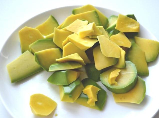 Тарталетки с начинкой из авокадо
