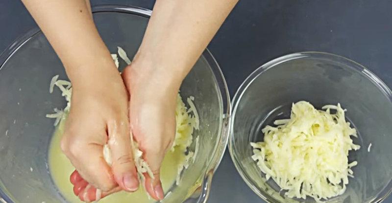 Приготовление кабачковых оладий