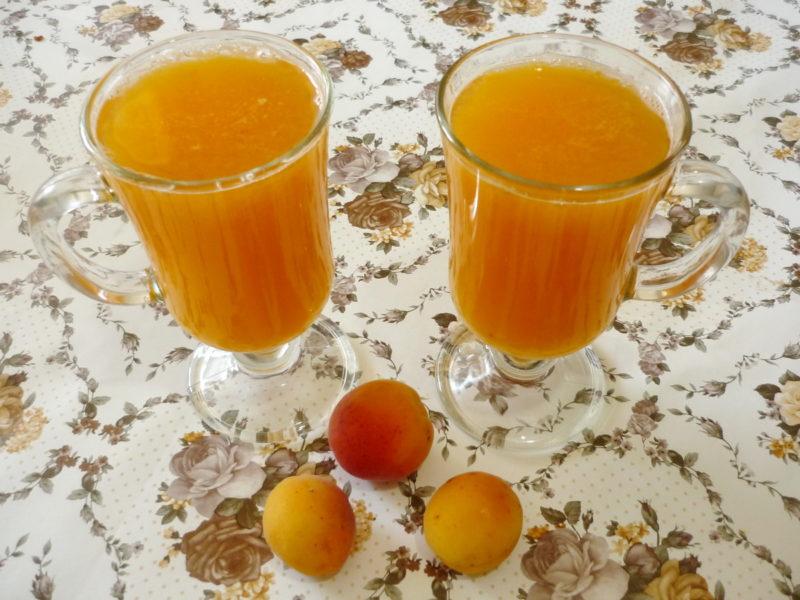 Абрикосовый сок на зиму