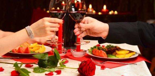 Салаты и закуски на День Влюбленных