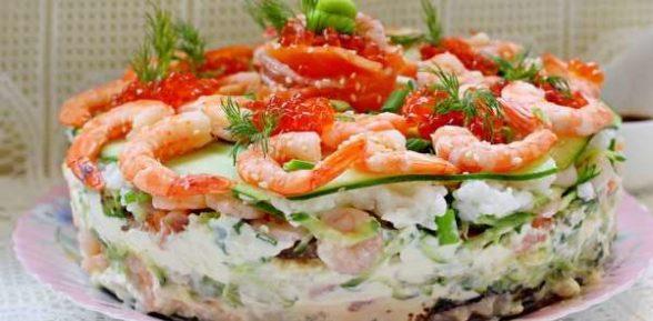Салат «Суши» — японские кулинарные традиции на домашней кухне