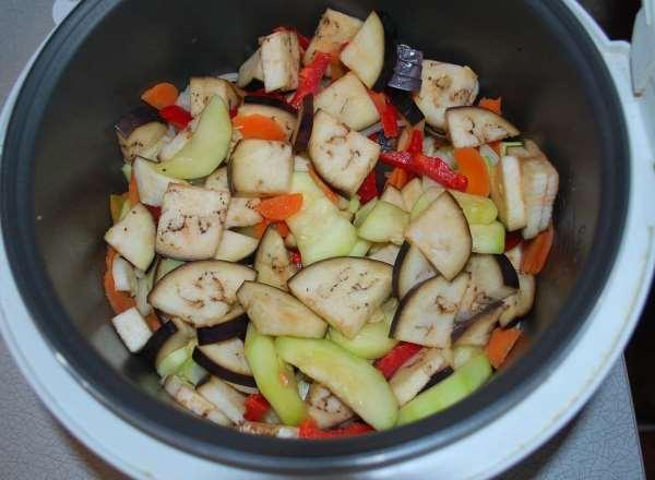 овощи для соте в мультиварке