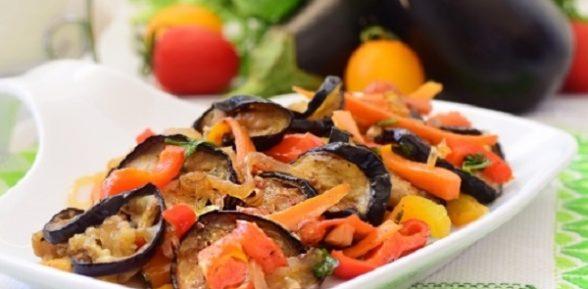 Вкусное соте из баклажанов: 3 рецепта с фото