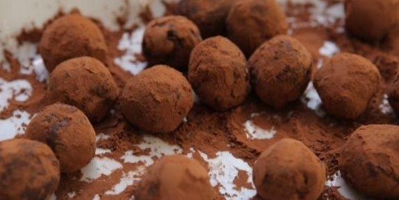 «Домашние» шоколадные трюфели