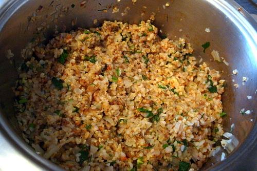 Монастырская каша из гречневой и пшеничной крупы