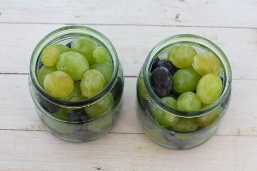 Маринование винограда на зиму