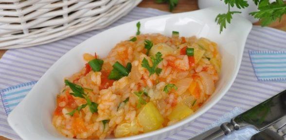 Кабачки с рисом по-марсельски