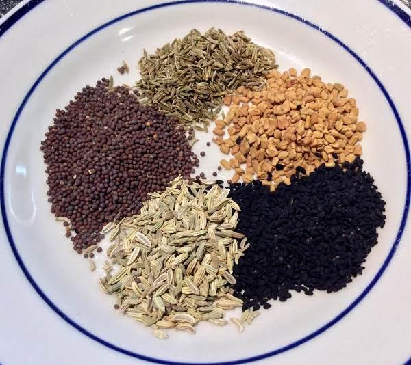 ингредиенты для панч масала