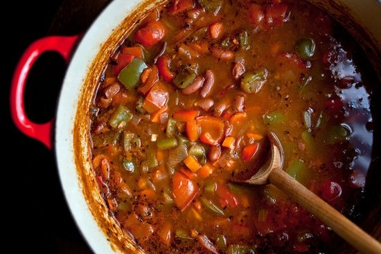 Суп с фасолью