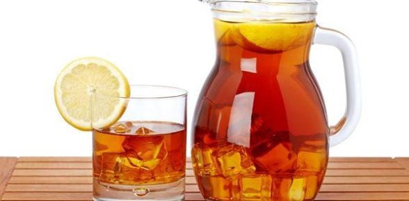 Холодный чай — напиток жаркого лета