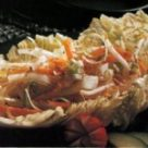 Хрустящий китайский салат фото
