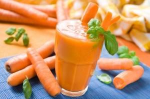 Морковный смузи с апельсином и грейпфрутом