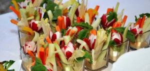 Пинцимони с овощами