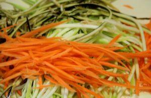 Овощи соломкой