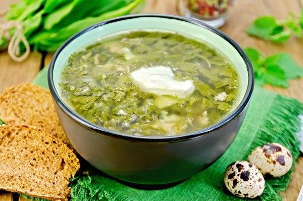 суп со щавлем