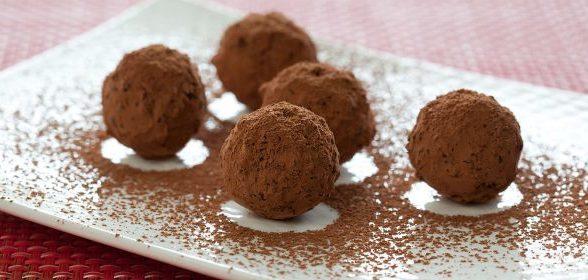 Новогодние сладости: Миндальные трюфели