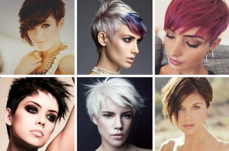 фото стрижек женских на короткие волосы