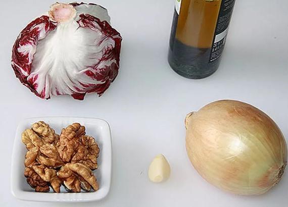 Ингредиенты для Радичио
