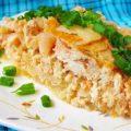 Запеканка с капустой и картошкой