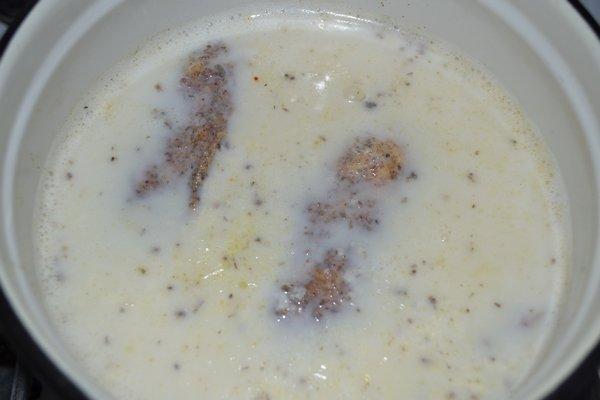 Мясо в маринаде из кислого молока