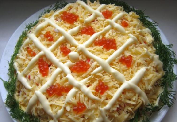 салат императорский рецепт с фото попросило