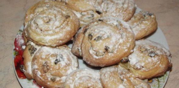 Печенье на кефире и сметане