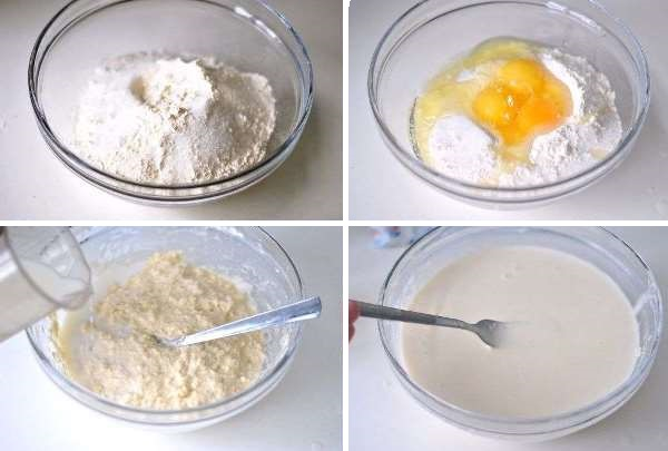 приготовить тесто для блинов