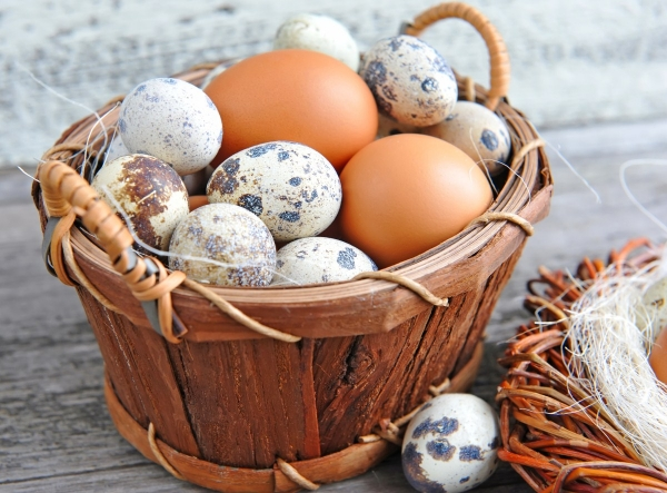 Яйца - витаминный комплек