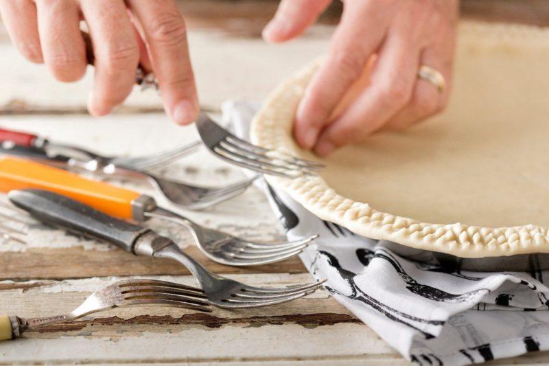 Как украсить пирог тестом 1