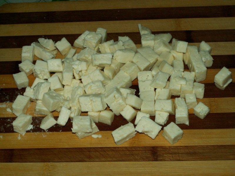 Куриная грудка кубиками