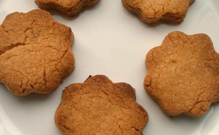 Готовое печенье на смальце