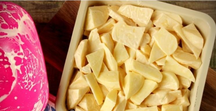 Картофель в майонезе и специях