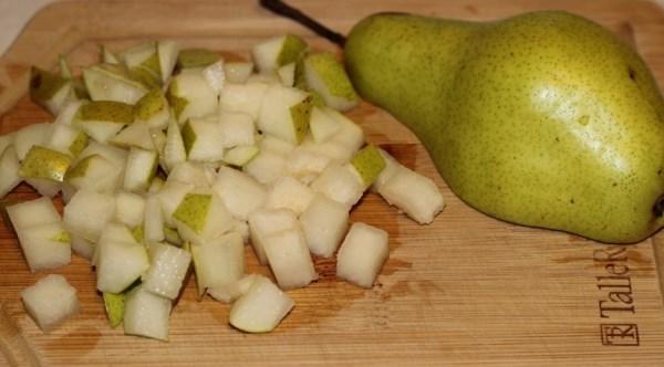 порезать грушу